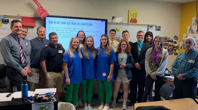 Forest City Students in Entrepreneurship Academy