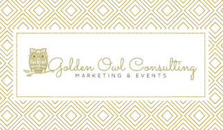Golden Owl Consulting Business Card