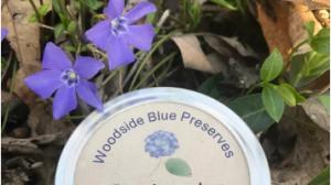 Woodside Blue Preserves Logo
